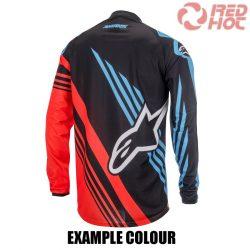 Alpinestars MX mez fekete-piros-kék
