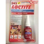 Loctite 243 olajtűrő,magas hőmérséklet tűrő  pillanatragasztó 5ml