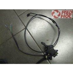 Gázkar 2 bowdenes fékkarral együtt , féklámpa kapcsolóval, gázbowden nélkül