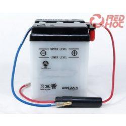 Motorkerékpár akkumulátor 6V 2AH SZÁRAZ 70x45x95 6N2-2