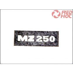 MZ/TS 250 MATRICA ÜLÉS AJTÓRA /NEGATÍV/