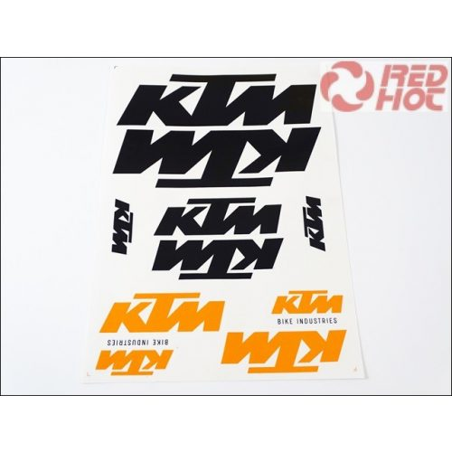 KTM  MATRICA KLT. KTM FEKETE