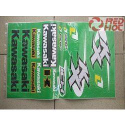 Kawasaki matrica szett A3