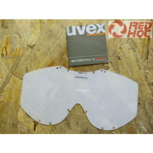 Cross szemüveg plexi víztiszta UVEX ( FP501) BF2015