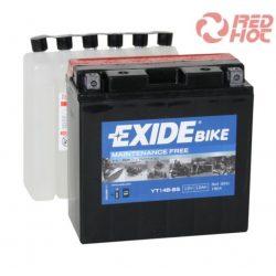 EXIDE YT14B-BS zárt akkumulátor (ET14B-BS)