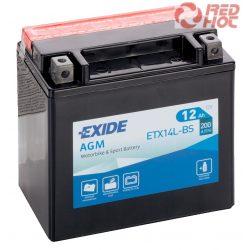 EXIDE ETX14L-BS YTX14-BS