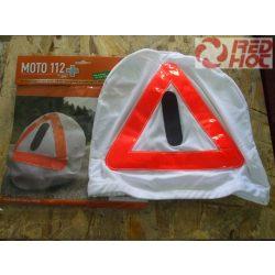 MOTO112 + elakadásjelző fényvisszaverő háromszög sisakháló