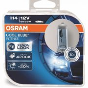 Izzó OSRAM 12V 60/55W Blue Light