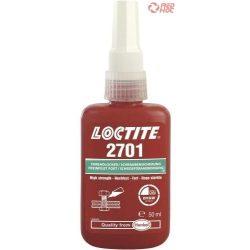 Loctite 2701 Nagy szilárdságú csavarrögzítő elsősorban krómozott felületekhez 5ml