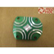 Pitbike hengerfej kupak vezérműtengelynél elox zöld / arany BSE RH