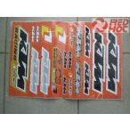 KTM matrica szett A3