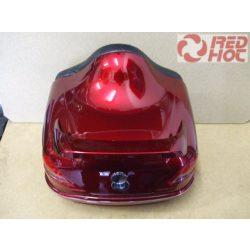 Hátsó doboz 28 literes bordó színben FIX felfdogatással Typ2 Top Case