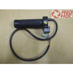Gumimarkolat elektromos kerékpárhoz kapcsolóval Typ2 ( index, világítás, kürt ) 7 vezetékes RH