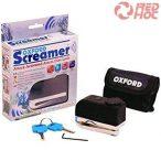 Oxford Screamer Riasztós tárcsafékzár 7mm-es tüskével + tartóval