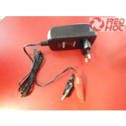 Motorkerékpár akkumulátor töltő 12V 0,8-1,0 A automata