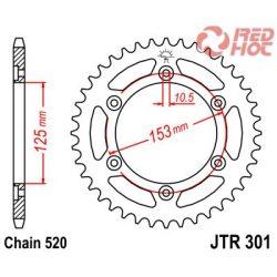 JTR 301.48 hátsó lánckerék Honda