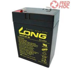Akkumulátor 6v 4Ah Long  (70*47*101)
