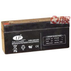 Akkumulátor 6v 3,2Ah LP  (132*32*64 )