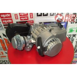 Pocketbike komplett motorblokk műanyag berántóval lassító áttétellel karburátorral + sportlégszűrővel