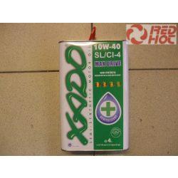 Xado 10w40 SL/CI-4 félszintetikus olaj 4L Fémkerámia képző kompozitot tartalmaz !