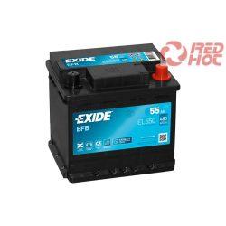 Exide Start-Stop akkumulátor 55Ah