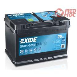 Exide Start-Stop akkumulátor 70Ah