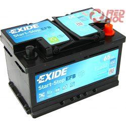 Exide Start-Stop akkumulátor 75Ah
