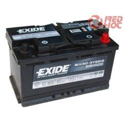 Exide Start-Stop akkumulátor 80Ah