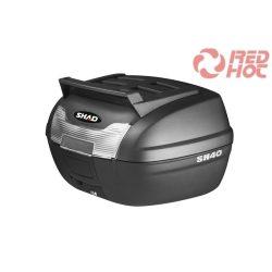 SHAD Hátsó doboz SH 40L Fekete top case (SH40)
