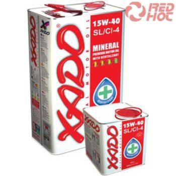 XADO  15W-40 SL/CI-4 4l