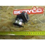 SZÍVÓCSONK gumi 1 csatlakozós GY6 125-150cc robogóhoz 22 mm RH