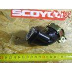 SZÍVÓCSONK gumi 1 csatlakozós 139QMB 50-80cc 4T robogóhoz 17mm