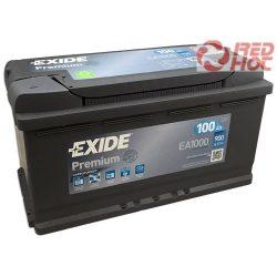 Exide Premium Akkumulátor 100Ah/900A 353*175*190