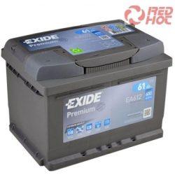 Exide Premium Akkumulátor 61Ah/600A 242*175*175