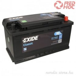 Exide Classic Akkumulátor 90Ah/720A 353*175*190