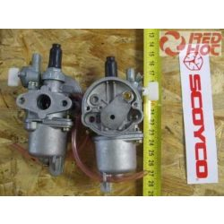 Pocketbike karburátor 50,5 légszűrő oldal, 37mm csavarközéptáv RH