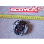 PocketBike kuplung 75,5 mm külső átmérő 10 mm belső vizes hengerhez 2 pofás