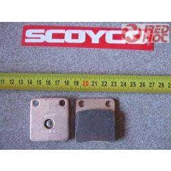 Fékbetét szimetrikus 41x45 mm RH