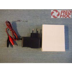 Motorkerékpár akkumulátor töltő 12V / 2.5AH-20AH
