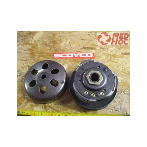 Hátsó kuplung komplett 125-150cc GY6 135 mm átmérő
