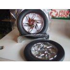 Motorkerékpár kerék poháralátét 4db-os szett   Xmas