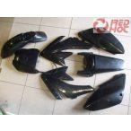 Pitbike CRF70 idomszett Fekete AGB 37 PIMP