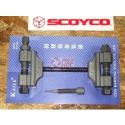 Pocketbike láncszerelő szerszám