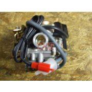 Karburátor automata szivatóval kínai 139QMB 4T robogóhoz 70-80cc 19 mm