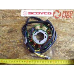 Alaplap 11 tekercses 2 tekercs szigetelt + jeladóval (Zongshen 250cc)