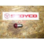 Izzó 40V 10W piros,elektromos kerékpárhoz