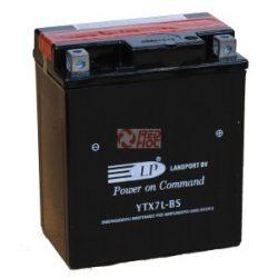 Landport YTX7L-BS zárt akkumulátor