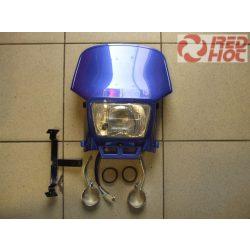 Első fejidom lámpával E4-es szabvány kék szerelvényekkel univerzális RH