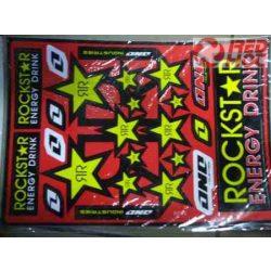 Rockstar matrica íves A4 méret PIMP 2014