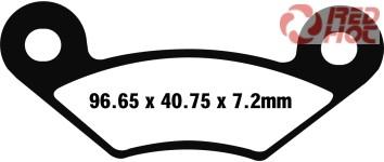 EBC FA 483R szinter fékbetét